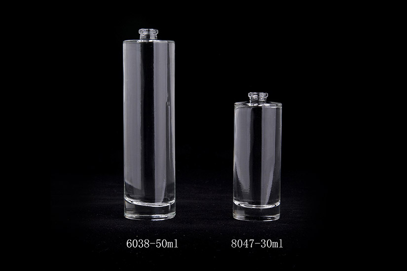 Cylinder-shaped Perfume Bottle