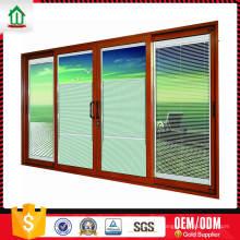 Portes coulissantes asiatiques en aluminium sur mesure de qualité supérieure à bas prix Portes coulissantes en aluminium asiatiques sur mesure de qualité à prix avantageux