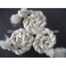 100% pure dehaired Alashan white goat cashmere tops