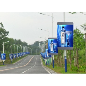 P4 High Resolution Smart Pole Billboard LED Display