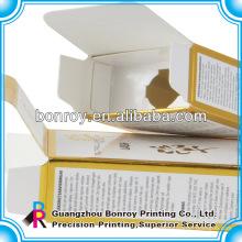 Коробка дух Упаковывая косметическая коробка с фольгой работать