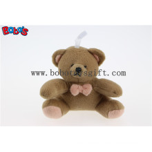 """4"""" Sitting Style Stuffed Kids Toy Teddy Bear with Bowknow Bos1100"""