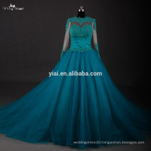 RSE606 Customize Your Own Long Peacock Quinceanera Dresses With Sleeves patterns