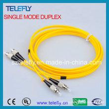 Перемычка волоконно-оптического соединителя FC, соединительный кабель