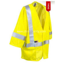 Unisex Green Flame Resistant Safety Vest