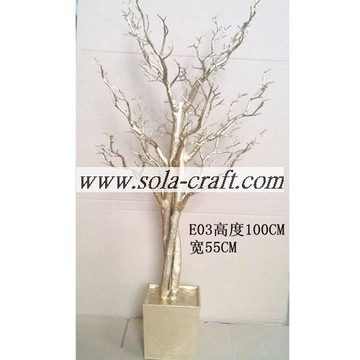 100cm White Wedding Tree Centerpiece For Buffet Tables Decor
