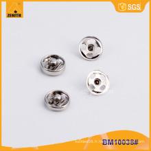Appuyez sur le bouton Snap Button Snap Button pour la veste BM10038 #