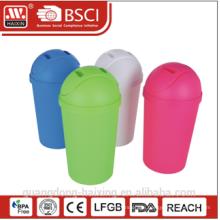 HaiXing Home Office Decor Cartoon Eco-friendly round plastic garbage bin 11L