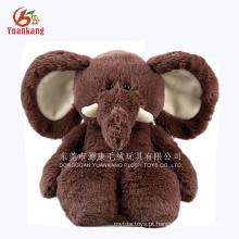 Os brinquedos feitos sob encomenda feitos da fábrica do brinquedo de YK ICTI melhor encheram os animais do luxuoso