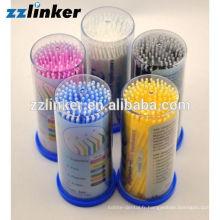 Brosse à applicateur micro dentaire jetable
