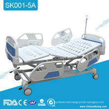 SK001-5A Foldable Simple Icu Electric Motorized Medical Hospital Bed