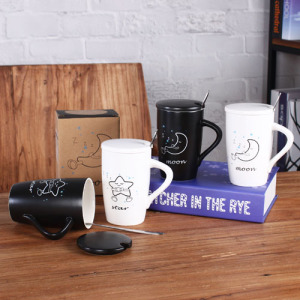 Moon and star coffee mug