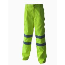 Защитные рабочие брюки повышенной видимости