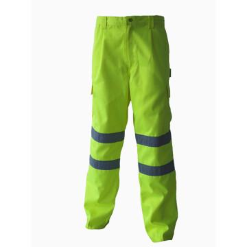 Pantalon de travail de protection haute visibilité