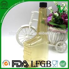 Atacado PVC transparente óleo de óleo garrafa de plástico China fornecedor para indústria
