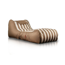 Outdoor lounge meubilair grote zitzak bed