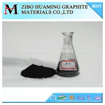 Alto teor de carbono contém pó de grafite