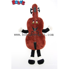 Chocolate Custom Stuffed Mascot Animal Toy with Embroidery Clent′s Logo Bos1127