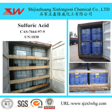 Sulfuric Acid 98% For Textile Paper