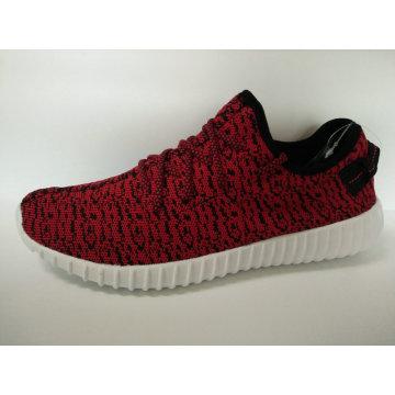 2016 Newstyle zapatos deportivos casuales, zapatos de running con Fly Knitting