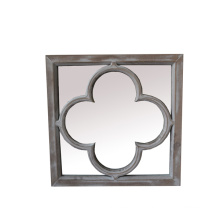 New Design Wooden Mirror for Home Deco