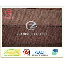 Tissu en velours côtelé collé 11W N / P pour canapé (ZCCF051)