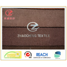 Tecido de veludo colado 11W N / P para uso em sofá (ZCCF051)