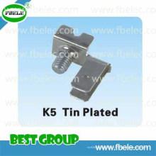Peças metálicas K5 Placa de estanho / Bloco de terminais / Bloco de terminais de alimentação