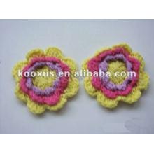 Декоративный вязание крючком цветок ручной работы из Китая Yiwu Market