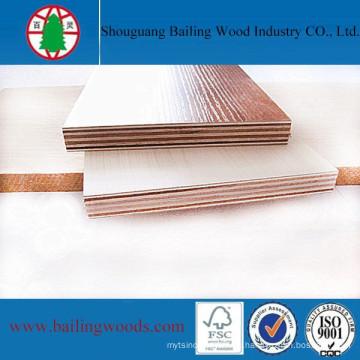 Venta directa de fábrica de madera contrachapada comercial