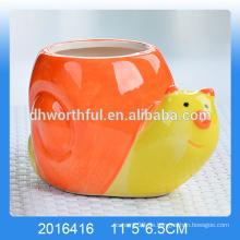 Hochwertige keramische Schneckenmousse-Tablettbecher