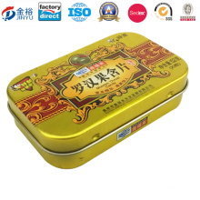 Factory Directly Pill Metal Tin Case for Pill Medicine