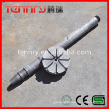 Aluminum Degassing Anti oxidation Treatment Graphite Rotor And Shaft Supplier