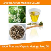 Huile de semences 100% pure et organique Moringa