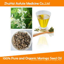 100% Pure and Organic Moringa Seed Oil