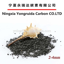 Low price coal based granular activated carbon 25kg