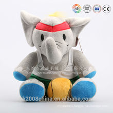 To my love! Beautiful and musical plush valentine elephant toys
