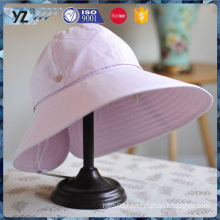 Latest product simple design cute sun visor caps for ladies with good price