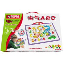 magic ABC Plastic Building blocks intellectual toys