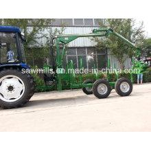 Pto Tractor ATV Log Trailer for Sale