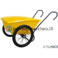 Total Control 5 Cubic Foot Garden Cart