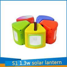 S1 Solar Light Lantern 1.3W for Camp