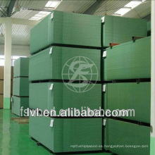 MDF verde impermeable