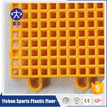 Tapis de sol de basketball de tuiles de verrouillage de plancher de sports extérieurs de sports de pp