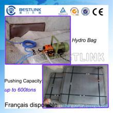 1000 Tons Steel Hydropush Bag for Marble Blocks Mining