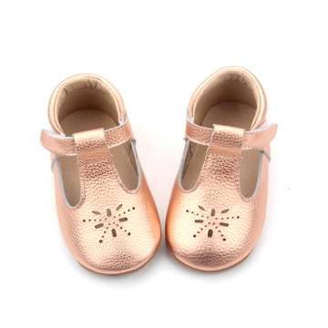 Weiches Leder Baby Girl Mary Jane Dress Schuhe