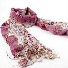 Fleece printing muslim scarf styles