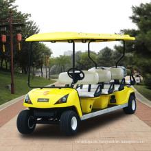 Hersteller billig 8 Sitzer elektrische Golf Cart (DG-C6 + 2)