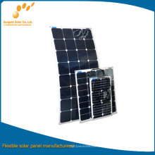 Mini panel solar flexible 20W con Sunpower Cell