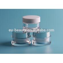 Neue Kosmetik-Container Acryl Runde Gläser